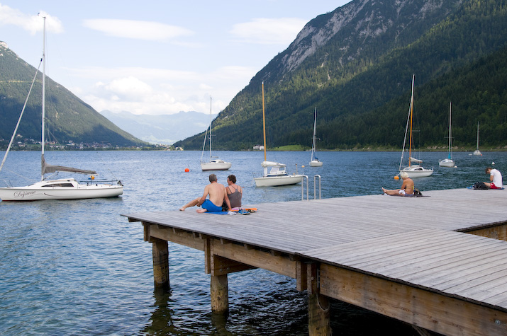 Pampered, pummelled, purified… life is bliss by the crystal-clear waters of Tirol's largest lake