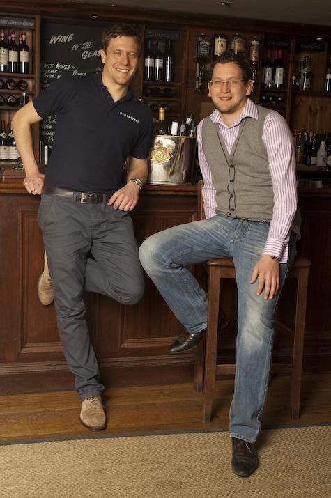 Mark (L) and Matt (R) Warburton