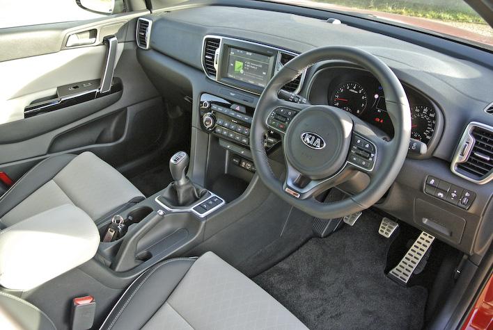 Kia Sportage GT 4