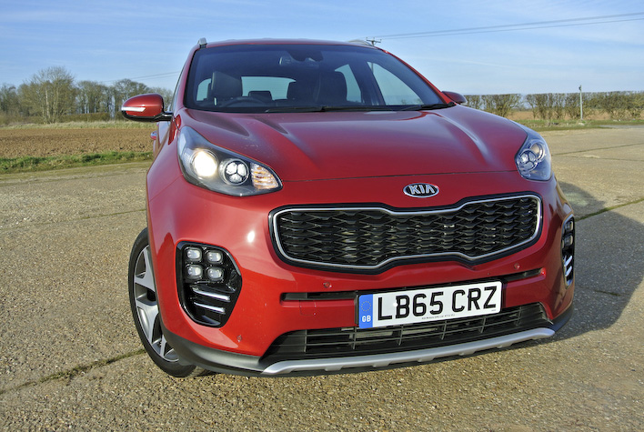 Kia presents the best SUV for continental cruising