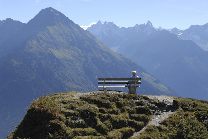 Hiking is for all ages on the Zillertal