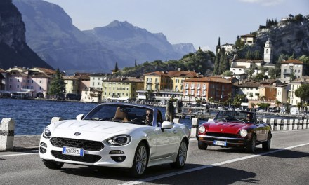 Retrospective Fiat 124 Spider looks to the future
