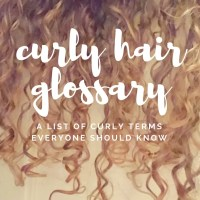 Curly Hair Glossary