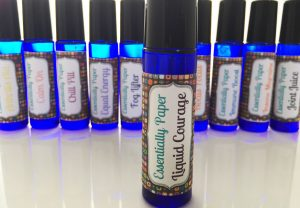 liquid-courage-eob-300x208 Liquid Courage Essential Oil Blend now available online at our Etsy Shop @EssentiallyPaperShop