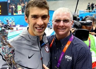 Bob Bowman and Michael Phelps