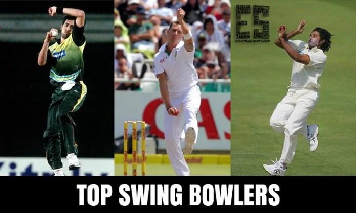 Top 10 Swing bowlers