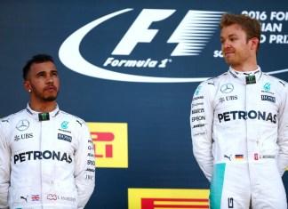 Rosberg overshadowing Hamilton in 2016