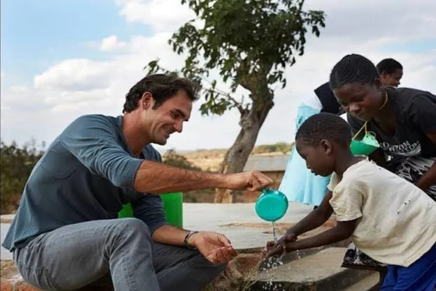 "Roger Federer on his Foundation: ""We Reached a Million Children"""