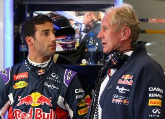 Daniel Ricciardo and Helmut marko