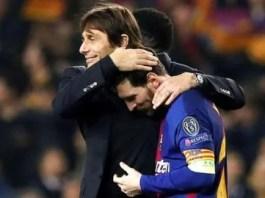 Messi Chelsea Barcelona