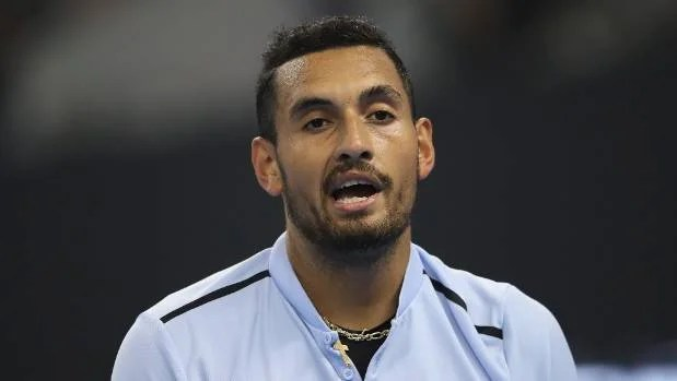 Nick Kyrgios storms off the court in Shanghai