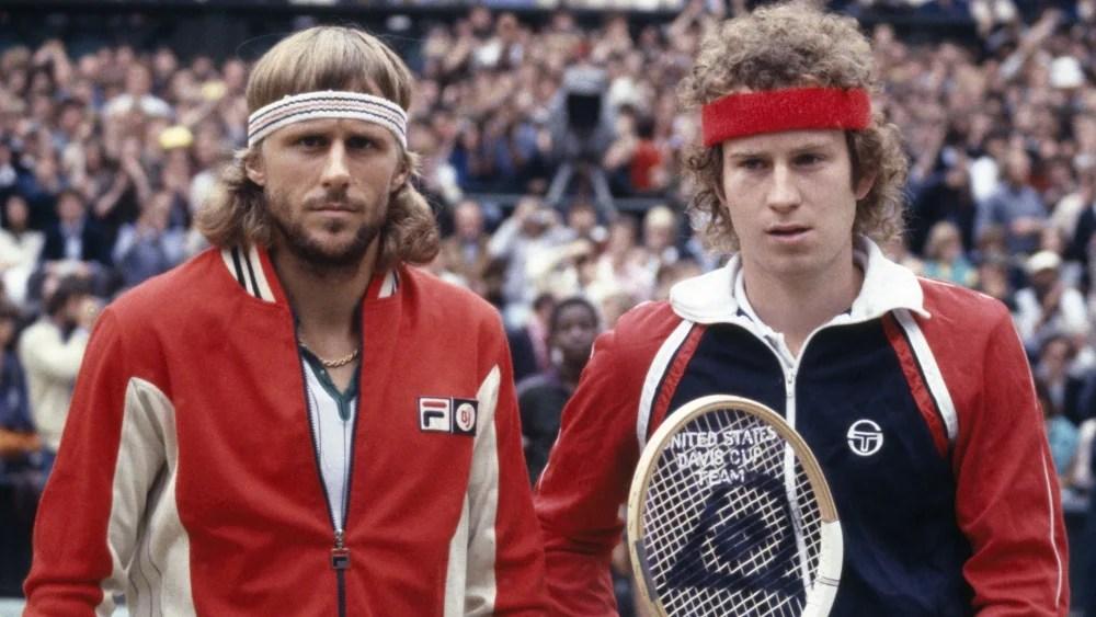 John McEnroe y Bjorn Borg