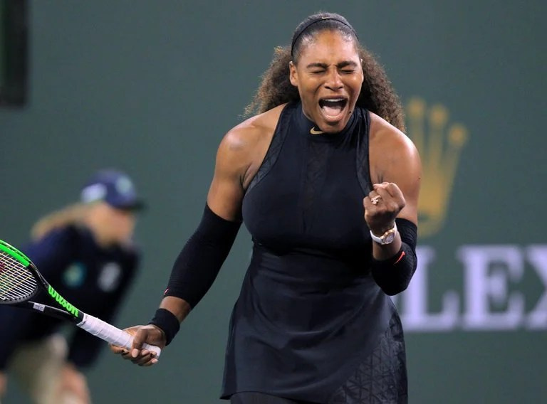 Serena Williams makes winning return after 14 months away