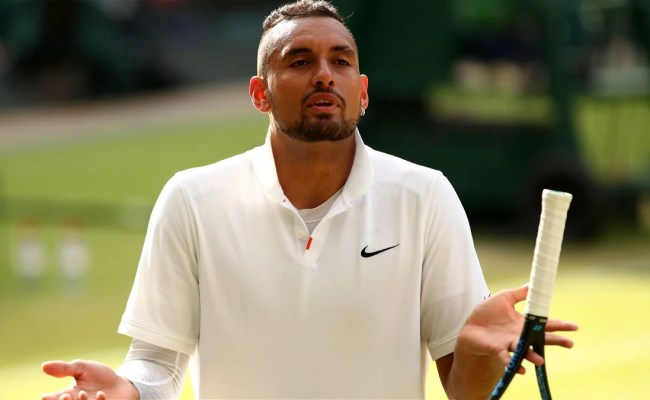 Nick Kyrgios Doesn T Consider Tennis To Be An Important