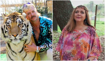 Tiger King, Joe Exotic and Arch Nemisis Carole Baskin