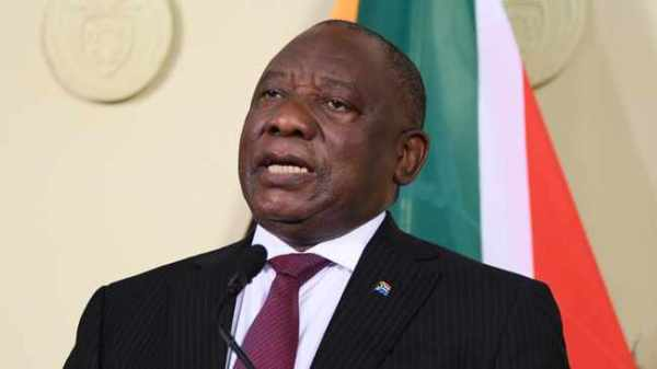 Ramaphosa speech