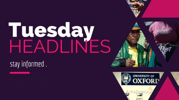 Tuesday news headlines
