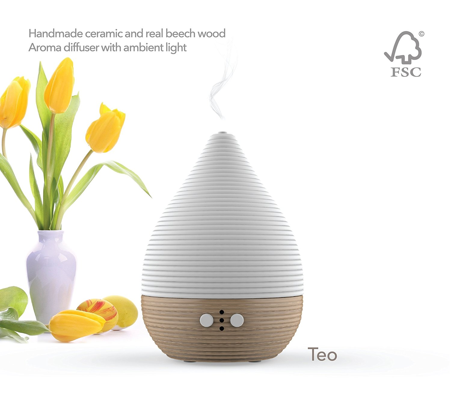 Teo Essential Oil Diffuser Review  A Handmade Ceramic and