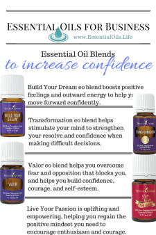 Essential oils for business: boost your confidence. Enhance your confidence and self-esteem with these essential oil blends that doesn't require DIY