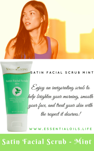 A bright, lovely mint face scrub... without the toxic ingredients