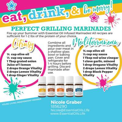 Summer grilling marinade recipe that goes great on chicken, steaks, or fish on the grill!