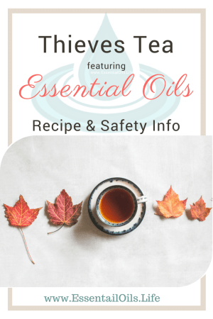 Ingesting oils is highly controversial because there aren't a lot of studies available, plus too many people are advocating for dropping essential oils into water without proper dilution first (not safe!). Thieves Tea... is it safe to drink??? What is the recipe? How can I make Thieves Tea so it is safe to drink? We have some answers!