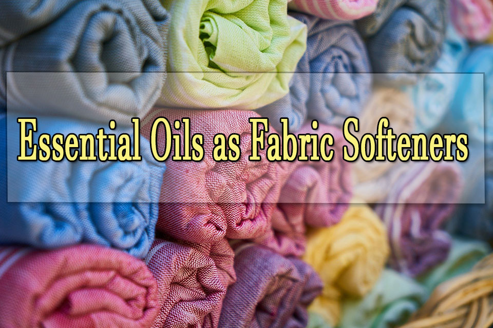 Essential oils for laundry