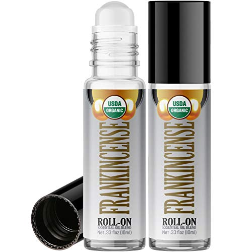 Organic Frankincense Roll On Essential Oil Rollerball (2 ...