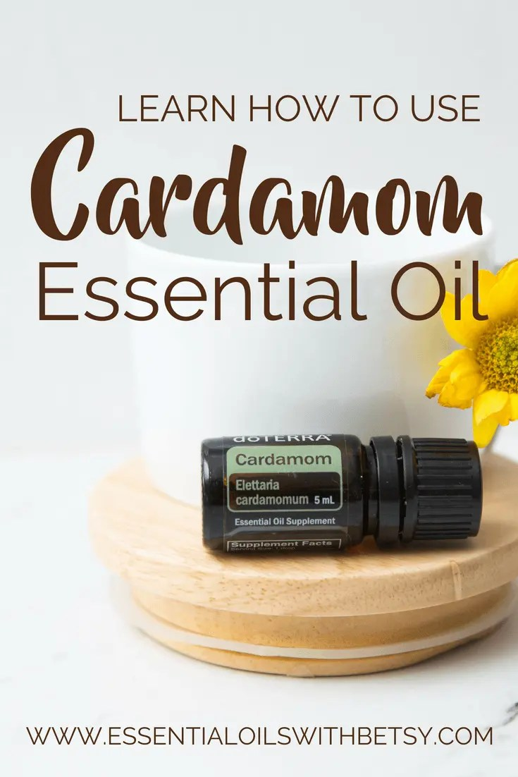 Learn how to use doTERRA Cardamom essential oil | Make Cardamom tea