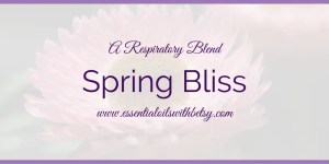 Spring Bliss Diffuser Blend