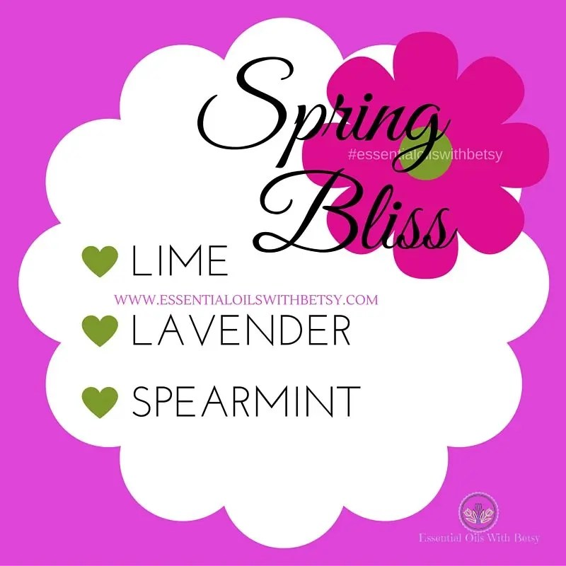 Spring Bliss Essential Oil Diffuser Blend For Respiratory Support