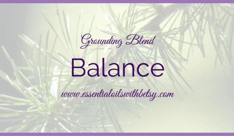doTERRA Balance Grounding Blend
