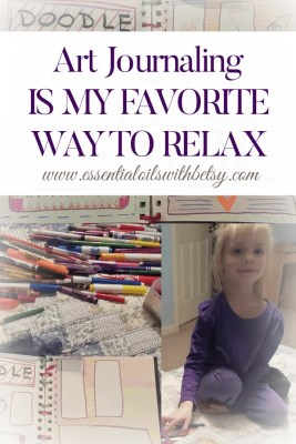 Art Journaling Is My Favorite Way To Relax Activities you can do with your kids