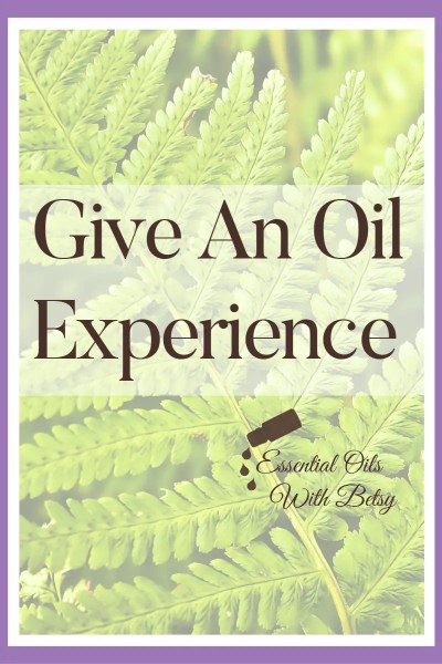 Tip for Sharing Essential Oils. Don't overthink this! The easiest way is to just open the bottle, and give an experience. Essential oils can seem daunting until you dive in, so show your friend exactly how to use them! Open the top, let them smell the oils, apply topically, and have an experience right then and there! Once they both experience the oil, and see how truly easy this is, they will be open to hearing more!
