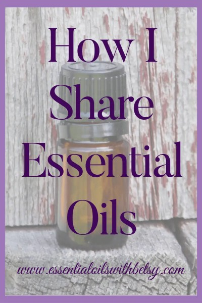 How I Share Essential Oils I share essential oils from online, which is pretty fantastic since I don't even need to leave my house except for a quick run to the post office for samples, or things along that line. Online is certainly not the only way to share oils, but it's what works for me! I train my team on how to share online or offline depending on their own preference! Love that flexibility! Want to learn more about joining my team? Contact me!