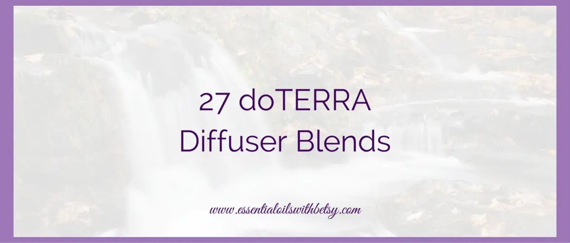 doTERRA Diffuser Blends