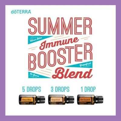 27 doTERRA diffuser blends |Summer Immune Booster Blend - 5 drops Citrus Bliss 3 drops Grapefruit 1 drop OnGuard