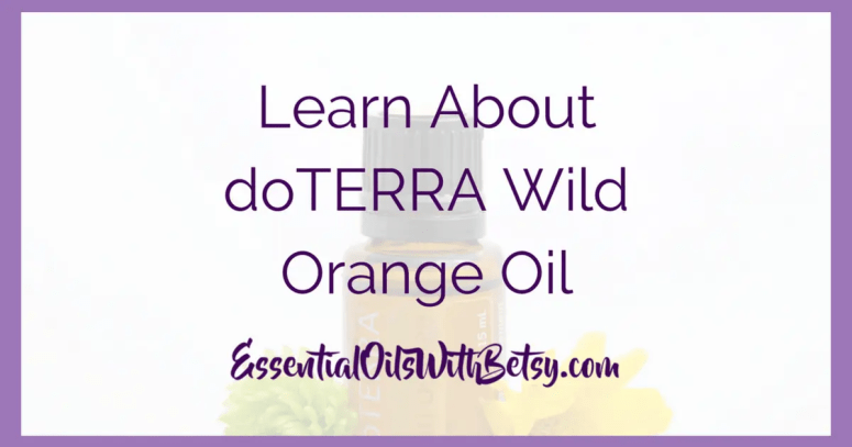 doTERRA Wild Orange Oil