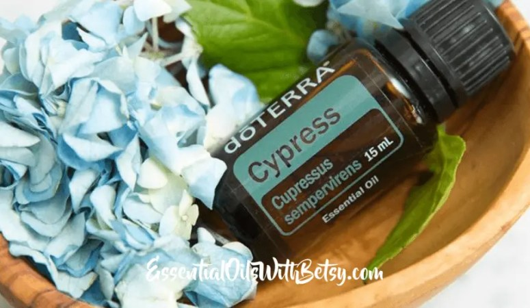doTERRA Cypress Essential Oil Uses