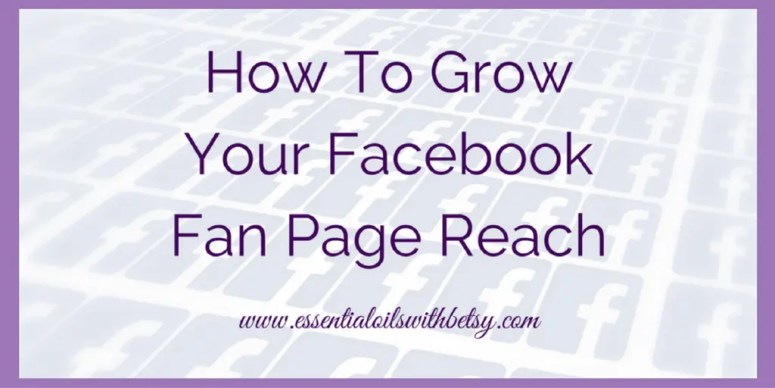 Growing your Facebook fan page reach is more complicated than a few page likes. Here are some tips that help me keep my own fan page reaching my audience.