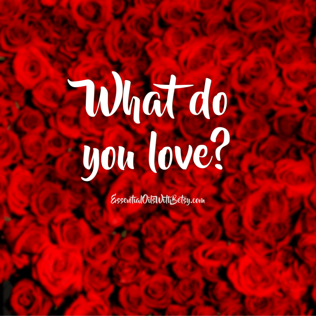 What do you love social media engagement graphic