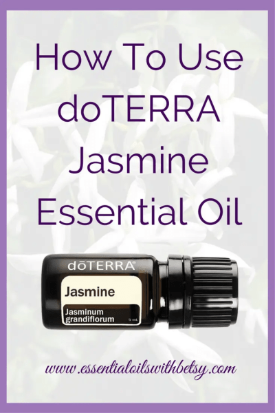 doTERRA Jasmine Essential Oil Guide doTERRA Jasmine Essential Oil is used for calming emotions. It is wonderful for emotional health and promotes feelings of confidence. It may also be used to soothe sensitive skin.