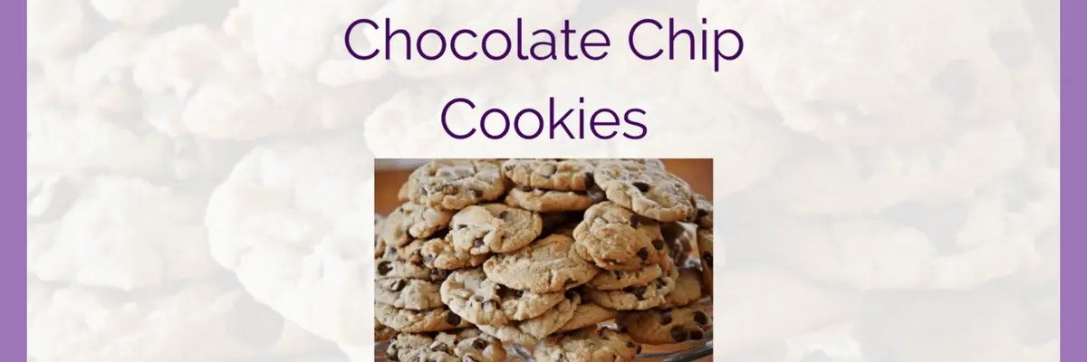 Chocolate Chip Cookies Recipe (Soy Free)