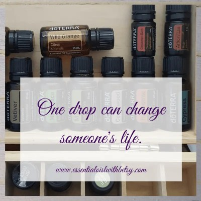 One drop can change someone's life.