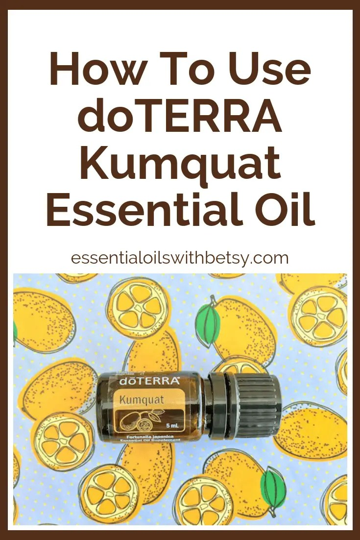 Are you wondering how to use Kumquat oil?  What are the benefits of doTERRA Kumquat essential oil?  Read on.  I've already done the research for you!