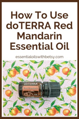 How To Use doTERRA Red Mandarin Essential Oil doTERRA Red Mandarin essential oil - Are you wondering how to use it? What are the benefits of doTERRA Red Mandarin oil? Read on. I've already done the research for you!