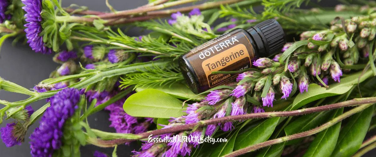doTERRA Tangerine Essential Oil Uses - Essential Oils With Betsy