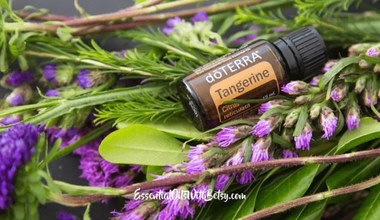 doTERRA Tangerine Essential Oil Uses