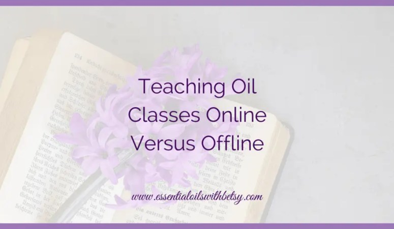 Teaching Oil Classes Online Versus Offline