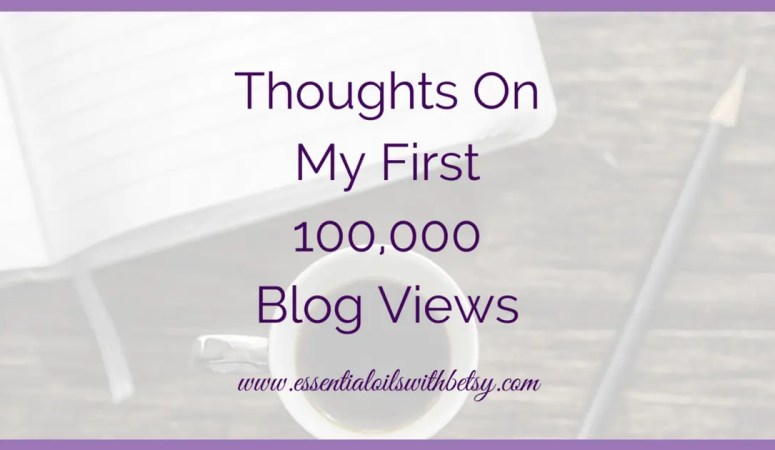 Thoughts On My First 100,000 Blog Views